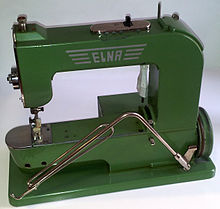 Elna grasshopper sewing machine