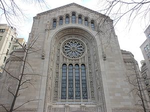 Congregation Emanu-El of New York - Temple Emanu-El Front Facade