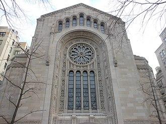 Congregation Emanu-El of New York - Temple Emanu-El Front Facade