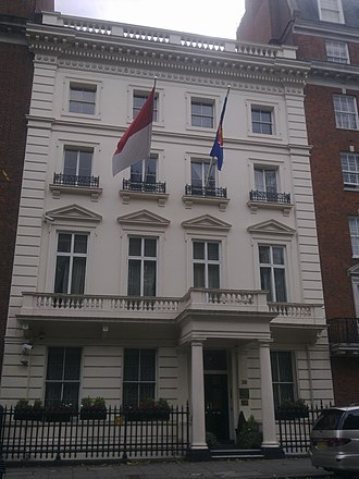 Embassy of Indonesia, London - Image: Embassy of Indonesia in London 1