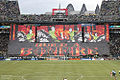 Emerald City Supporter's tifo at the Sounders FC v. Timbers FC..jpg