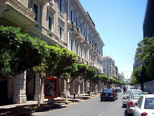Emhemmed Elmgharief Street Tripoli