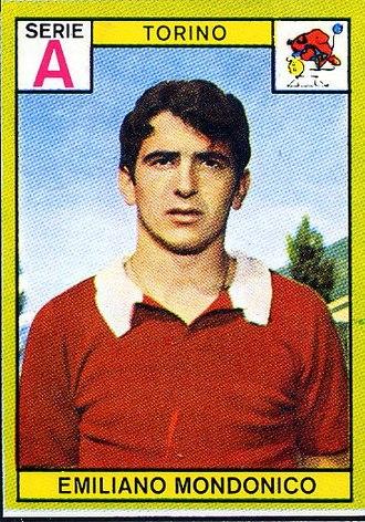 Emiliano Mondonico - Mondonico with Torino in 1968