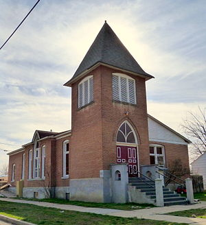 National Register of Historic Places listings in Gem County, Idaho - Image: Emmett Presbyterian Church Emmett Idaho