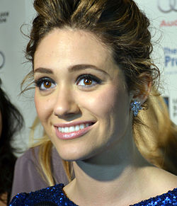 Emmy Rossum at The Ripple Effect charity event in Los Angeles, December 2011.