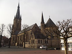 Emsdetten Catholic Church Town Centre.JPG