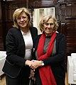 Encuentro de la alcaldesa con la comisaria europea de Política Regional, Corina Cretu 01.jpg