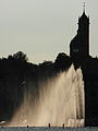 Enge - Kirche - Springbrunnen - Hafen Riesbach 2012-08-10 19-11-07 (WB850F).JPG