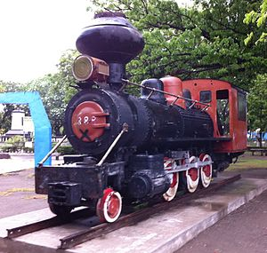 Panay Railways - Image: Engine Panay Railways 3