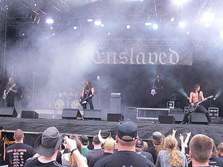 Enslaved (band) Norwegian metal band