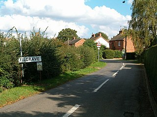 Filgrave village in United Kingdom