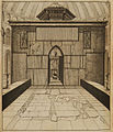 Entrance to the Holy Sepulchre in Jerusalem - Bruyn Cornelis De - 1714.jpg
