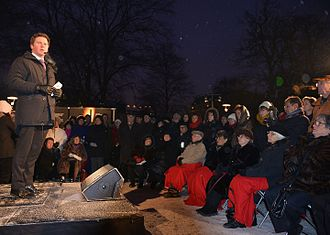 International Holocaust Remembrance Day - A commemoration ceremony in Sweden