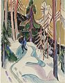 Ernst Ludwig Kirchner - Spaziergang im Walde.jpg