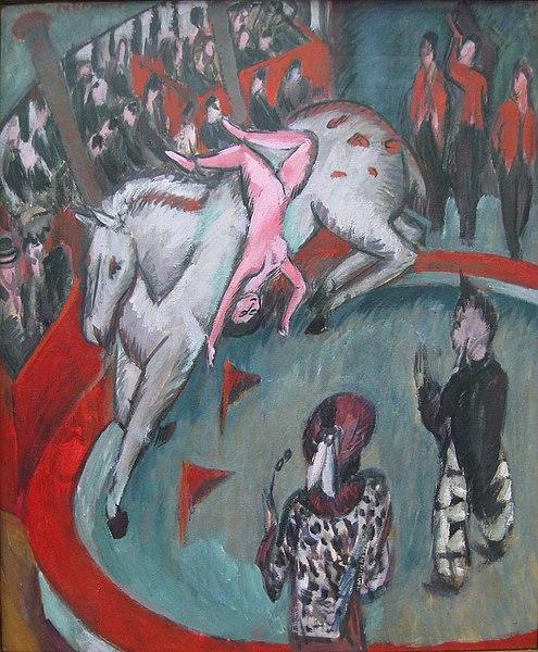 Archivo: Ernst Ludwig Kirchner circo caballo 1913-1.jpg