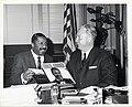 Erroll Garner, celebrated pianist, pays courtesy call on Mayor John F. Collins (13846692873).jpg