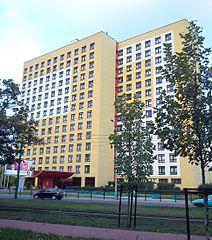 Eskulap od strony ul. Przybyszewskiego