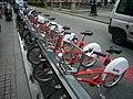 Estació de bicing a La Rambla num 78.JPG
