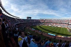 Vista panorámica del Estadio Monumental de Buenos Aires durante la final.