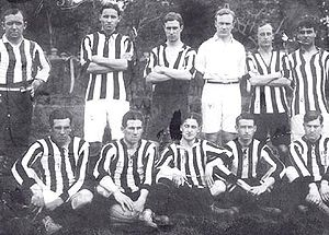 Estudiantes de La Plata - The 1913 Estudiantes team that won its first title in Primera División.