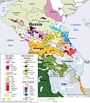 Ethnic Groups In Caucasus Region 2009