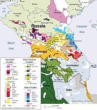 karta sveta azerbejdzan Kavkaz (regija)   Wikipedia karta sveta azerbejdzan