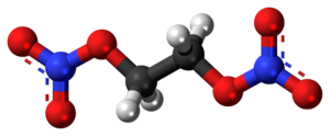 Ethylene glycol dinitrate - Image: Ethylene glycol dinitrate 3D ball