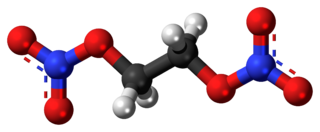 Ethylene glycol dinitrate Chemical compound
