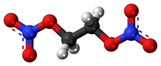 Ethylene glycol dinitrate - Image: Ethylene glycol dinitrate 3D ball