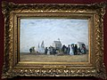 Eugéne boudin, la spiaggia di trouville, 1867.JPG
