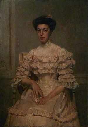 Jean-Amédée Gibert - Image: Eugénie Gruet par J. A. Gibert (1907)