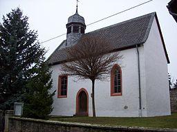 Evangelische Kirche Pleitersheim /Rheinland Pfalz von 1495