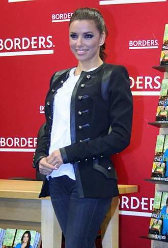 Eva Longoria - Longoria at a book signing for her book Eva's Kitchen: Cooking with Love for Family and Friends in April 2011