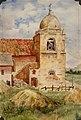 Eva Scott Fényes - Church Bell Tower of Mission San Carlos Borromeo, 1904.jpg