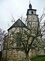 Evangelische Marienkirche in Mauren (romanisch 11-12. Jahrh., Turm, Chor im 14. Jahrh., gotische Schiff 1470) - panoramio.jpg