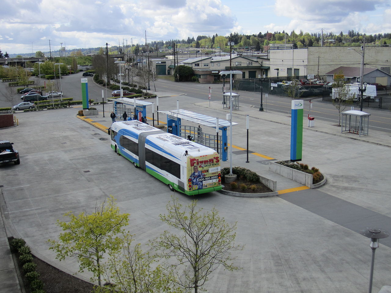 Everett Bus Station To Boeing Tour Facility