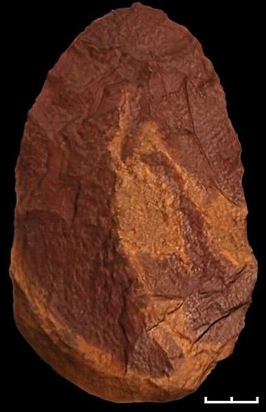bifaz de cuarcita Sima de los Huesos Atapuerca