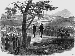 William Orton Williams - Hanging of Colonel Orton and Lieutenant Peters 1863.