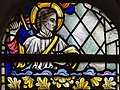 Exeter Cathedral, Stained glass window detail (36671056550).jpg