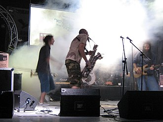 Eyesburn - Eyesburn performing live at Exit festival in 2006