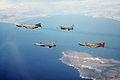 F-16Cs with F-4Fs off Sardinia 1995.JPEG