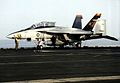 F-18F of VFA-11 on USS Enterprise (CVN-65) 2012.jpg
