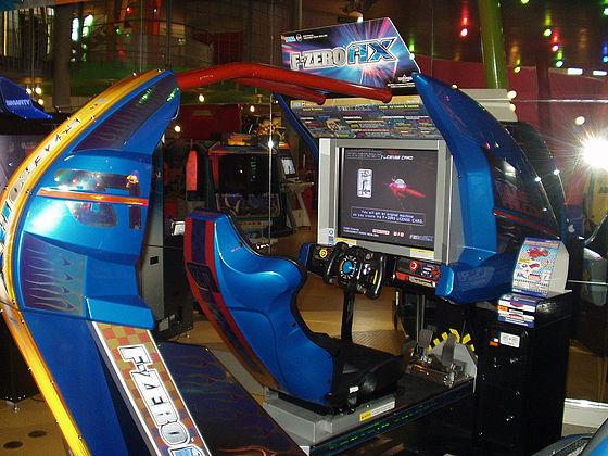 borne arcade f-zero ax