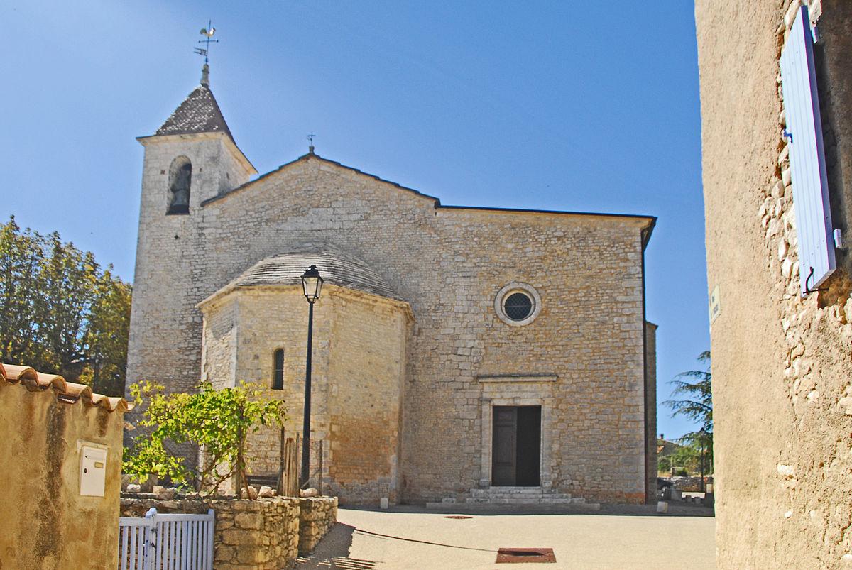 Notre-Dame-et-St-Christophe de Saint-Christol d\'Albion – Wikipedia