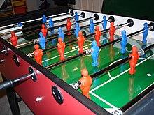 Foosball Wiktionary - Italian foosball table