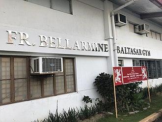 San Beda University - Facade of the SBCA's Fr. Bellarmine Baltasar Gym