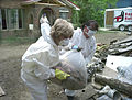 FEMA - 41276 - Members of a Baptist Disaster Relief crew working in West Virginia.jpg