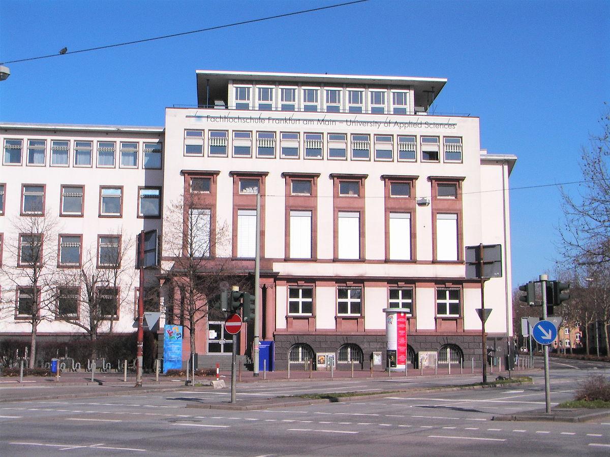 frankfurt university of applied sciences wikipedia. Black Bedroom Furniture Sets. Home Design Ideas