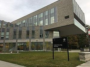 Western University Faculty of Information & Media Studies - Image: FIMS & Nursing Building