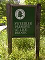 FLT M17 1.55 mi - Sweedler Preserve sign on Townline Rd - panoramio.jpg